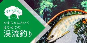 [1組限定のプライベートツアー]玉ちゃんと行く、はじめての渓流釣り