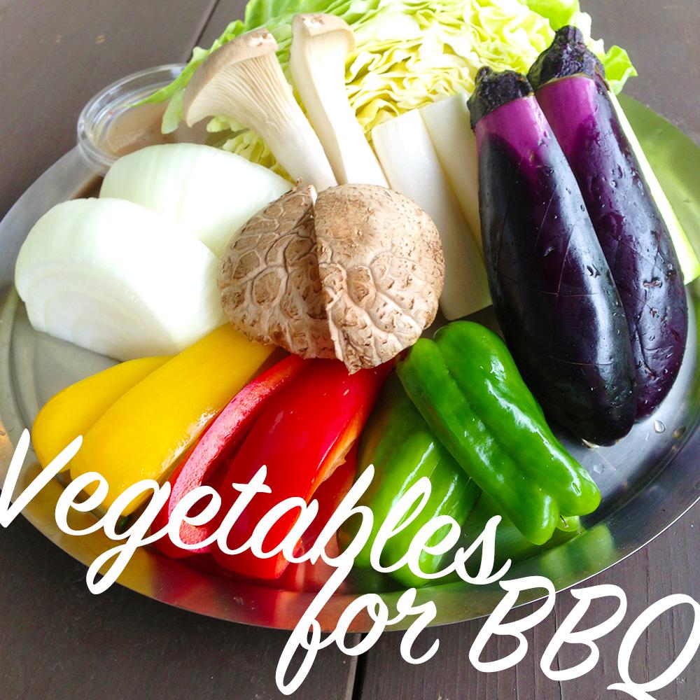 野菜moriBBQセット